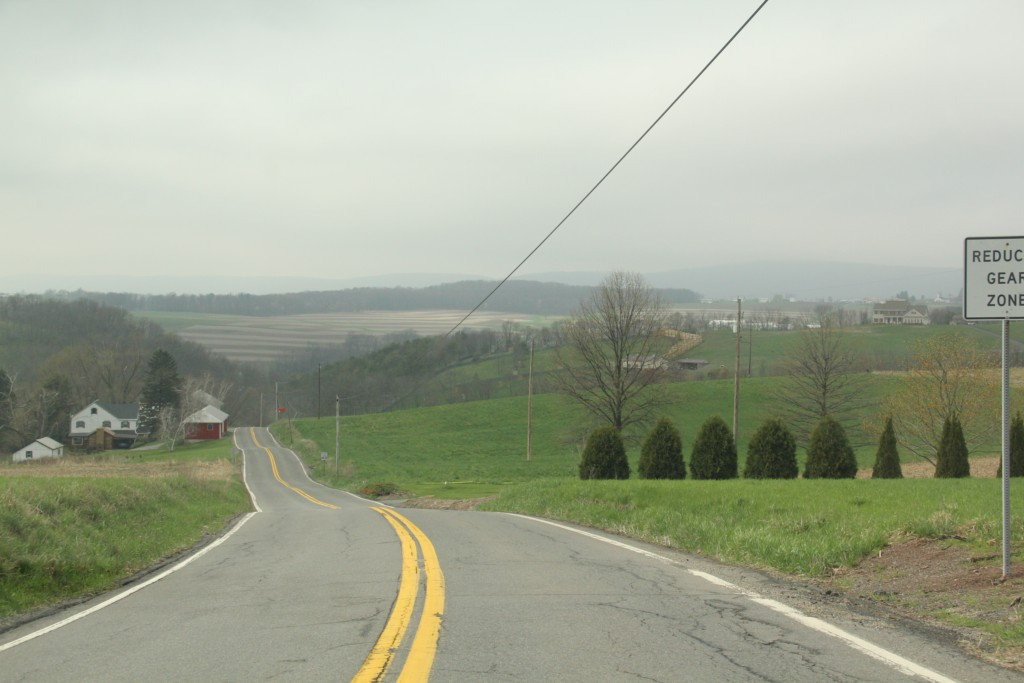 Touring Route 125 in PA