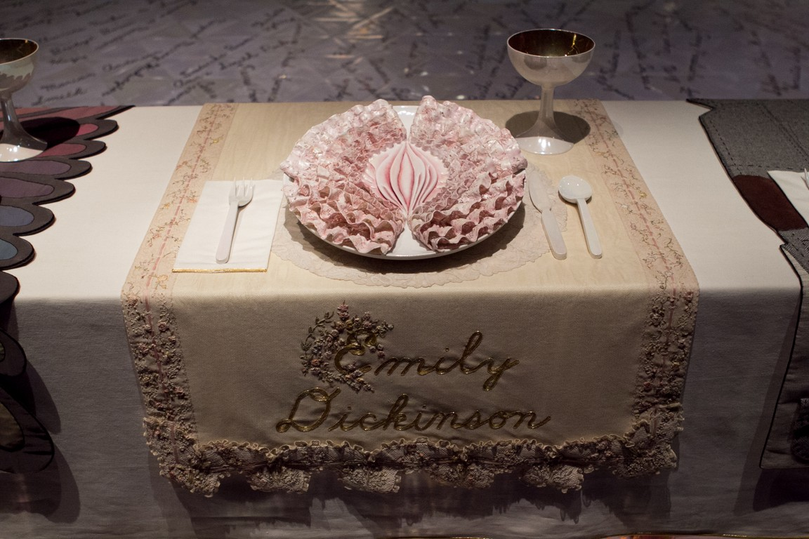 The Dinner Party By Judy Chicago Campoutkid