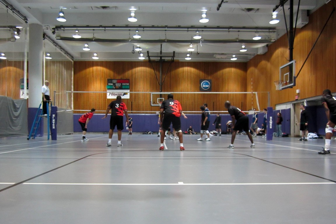 GEVA volleyball tourney at Hunter College