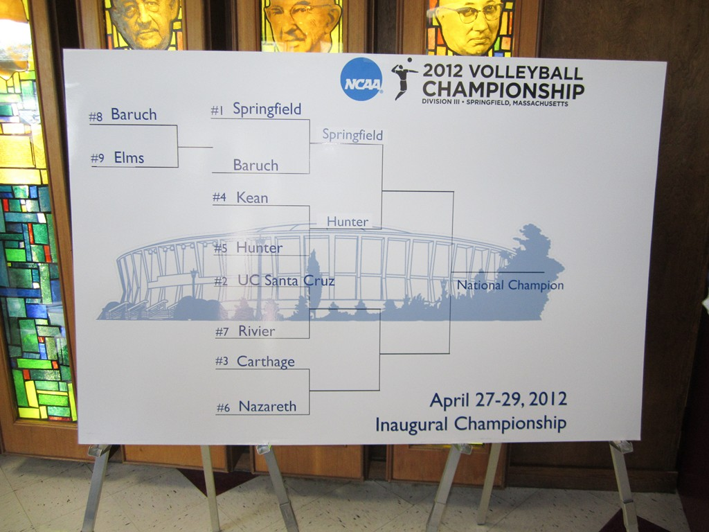 Men's NCAA division III Volleyball Tournament – Day 3