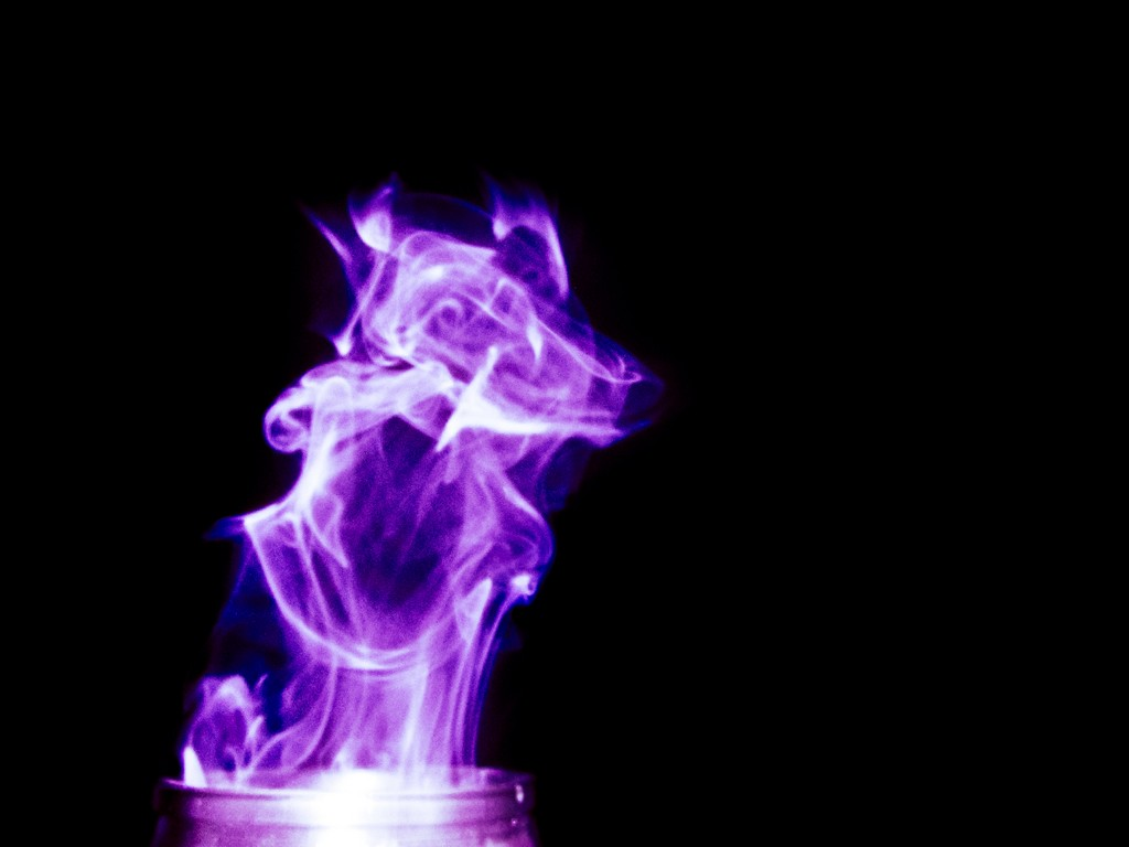 Smoke photography idea