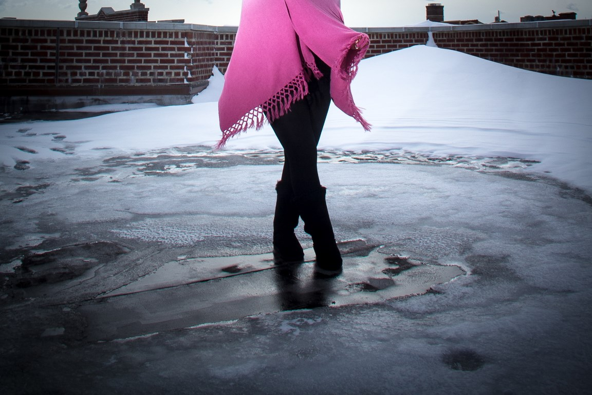 Winter shoot with Tania