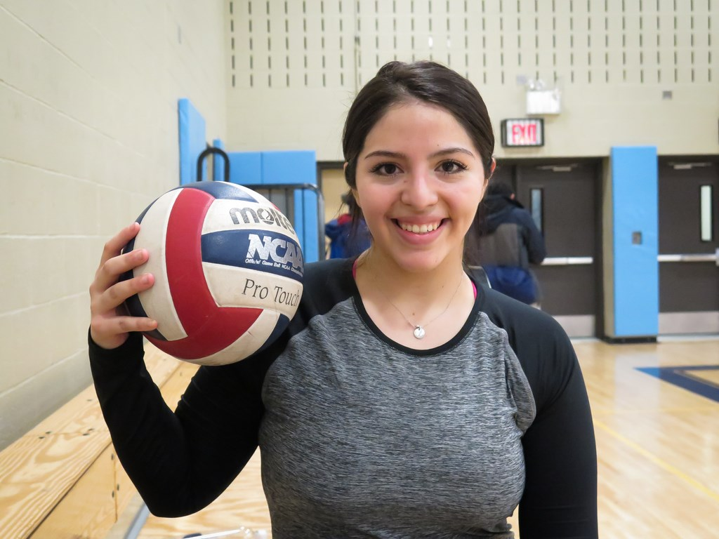 Tania's volleyball journey begins!