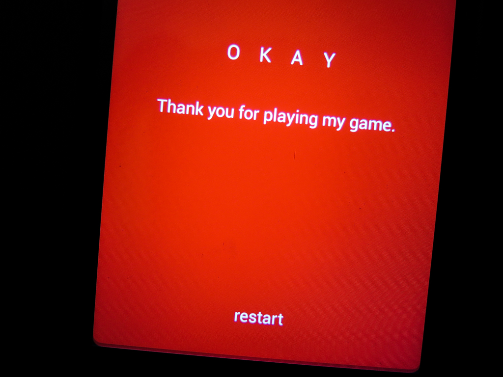 Okay? Android Game Completed!