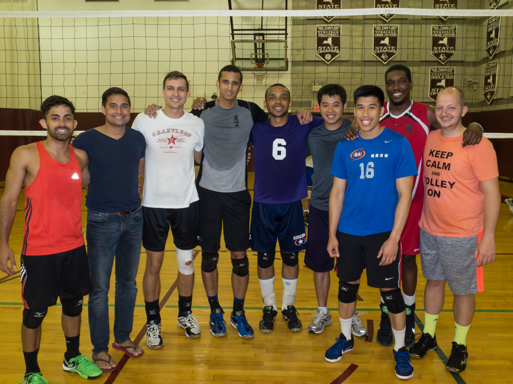 2016 Spring Division 1 Volleyball Champions
