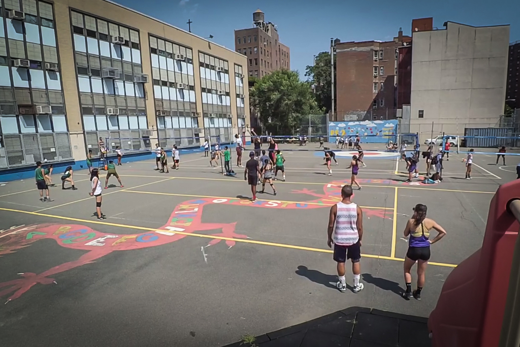 2nd NLN volleyball tournament at P.S. 2