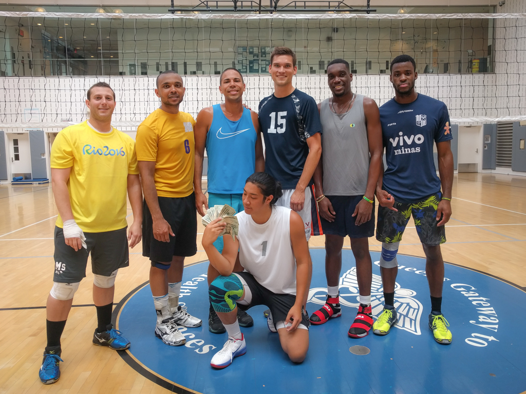 Volleyball Tournament at Queens Gateway to Health Sciences