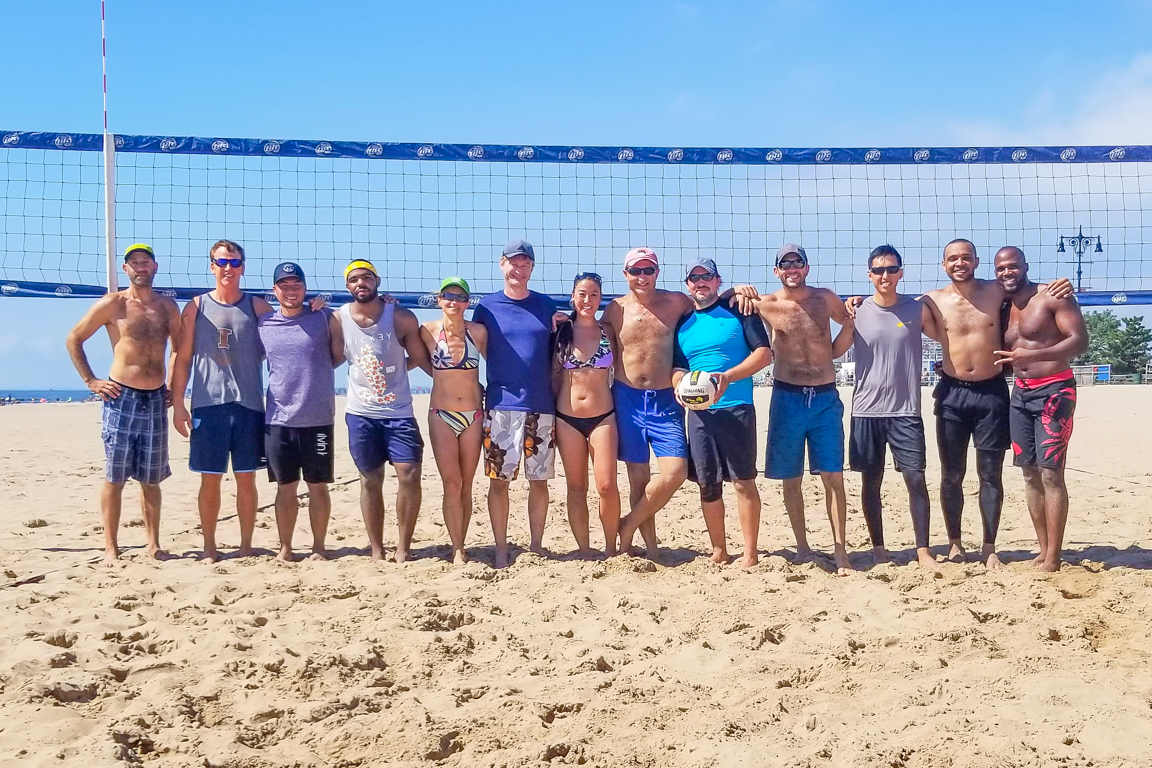 Brighton Beach Volleyball