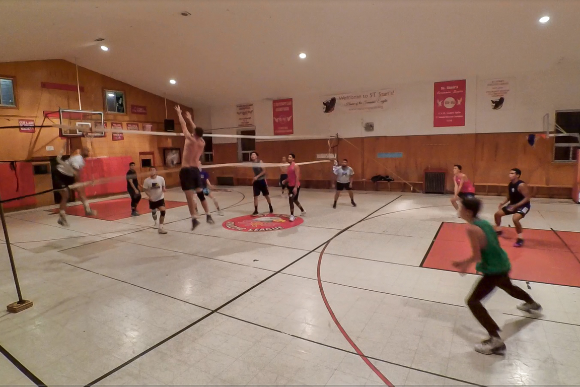 Saint Stanislaus Kostka Church Volleyball