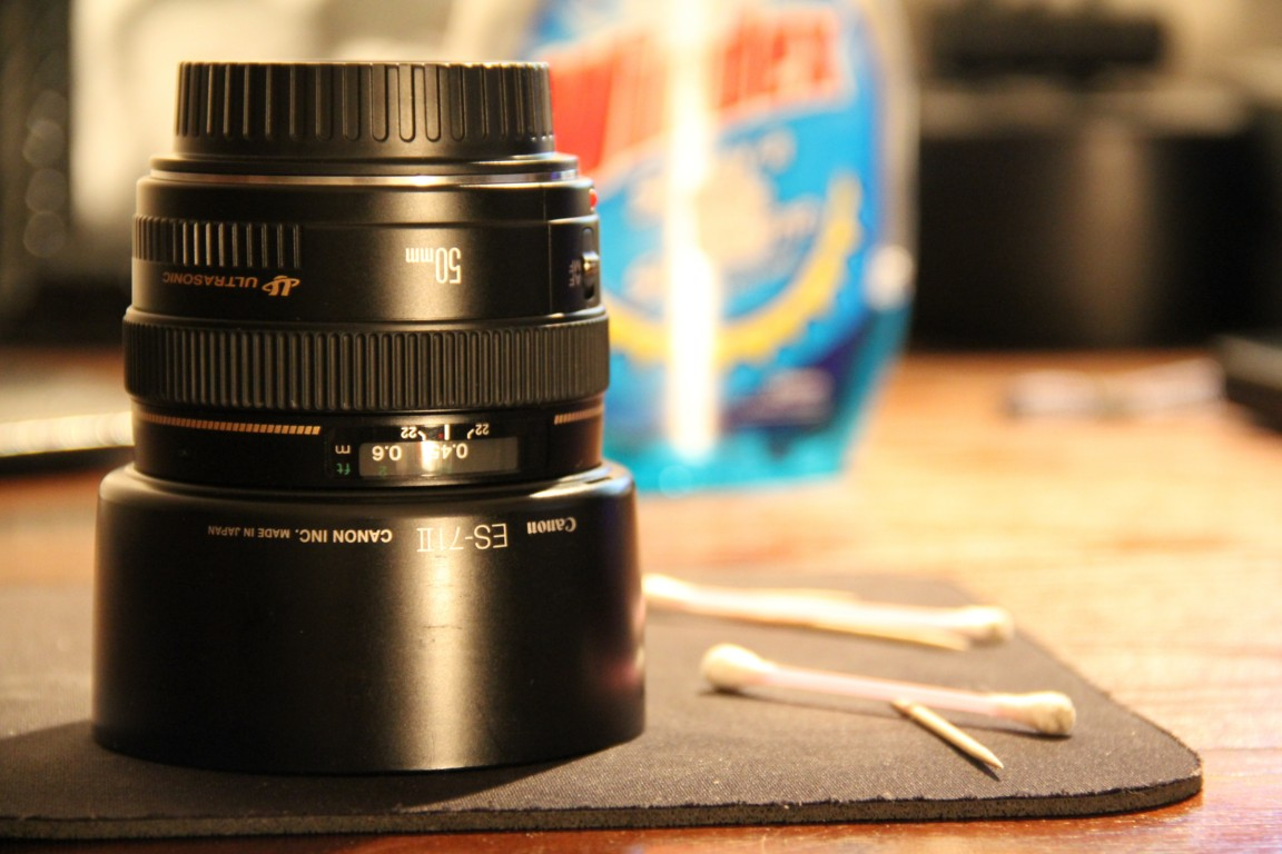 Canon 50mm 1.4 USM acquired