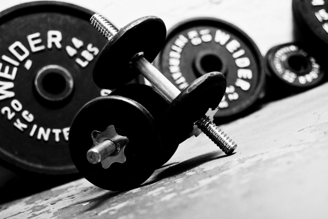Lifting weights ... again
