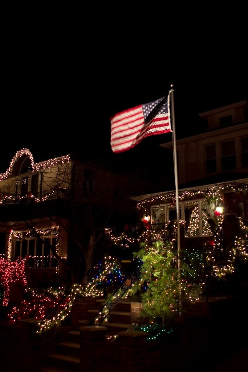 Dyker Heights Christmas Lights Campoutkid Thankfully Time Tour Offer American
