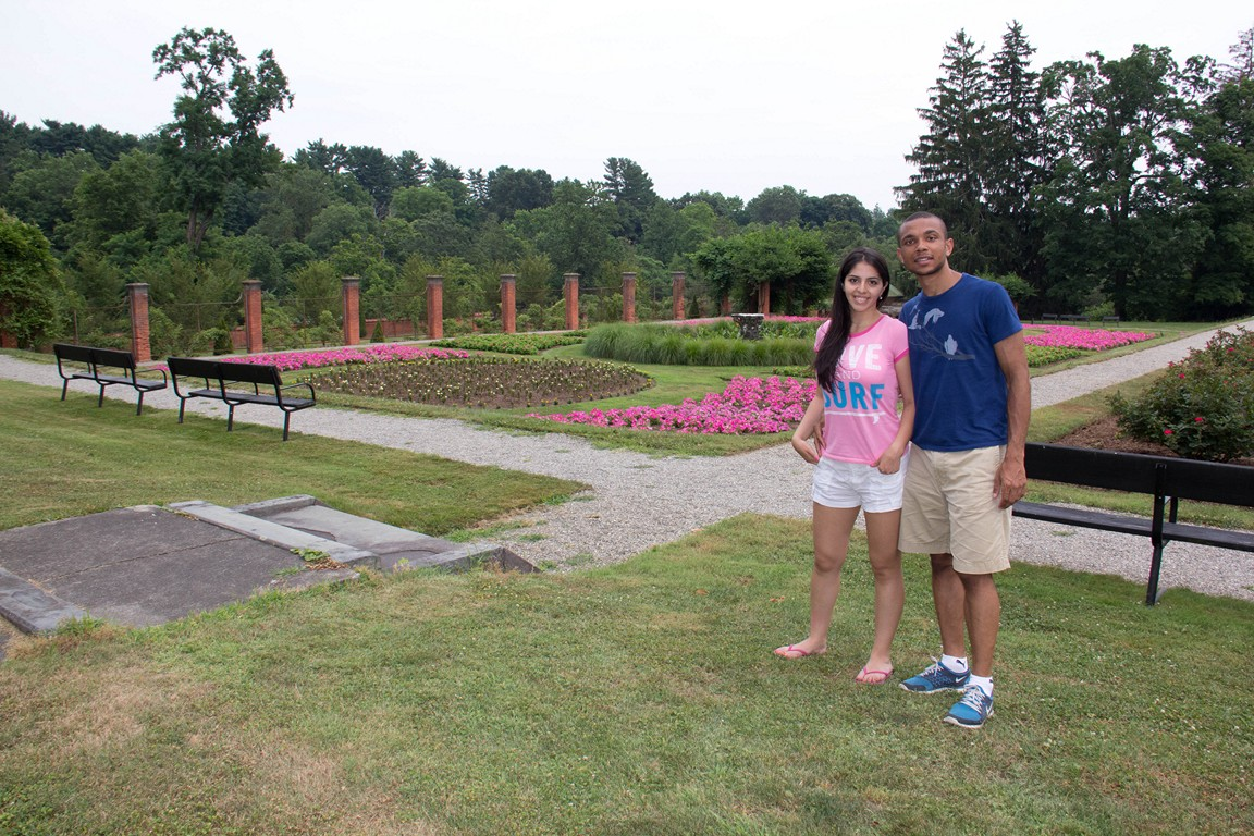 Tania and I at vanderbilt mansion