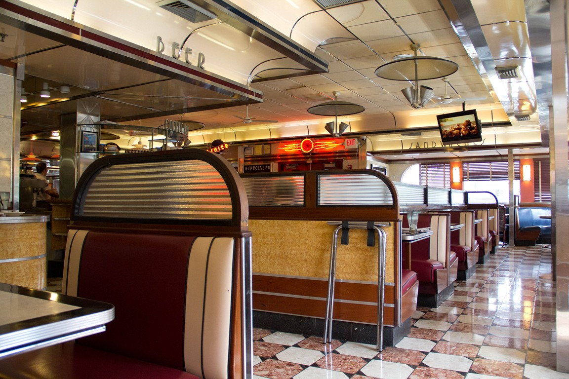 eveready diner seating