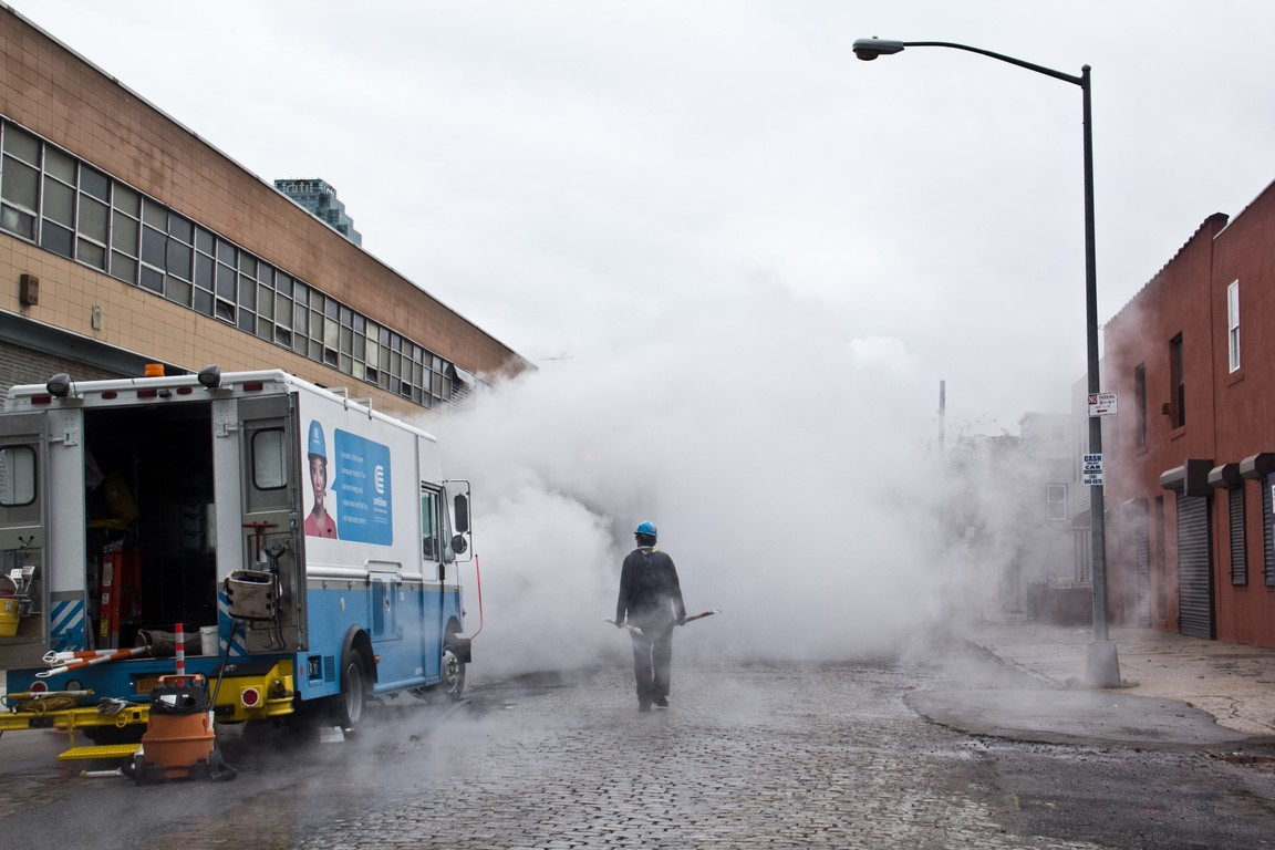 ConEdison working after Hurricane Sandy