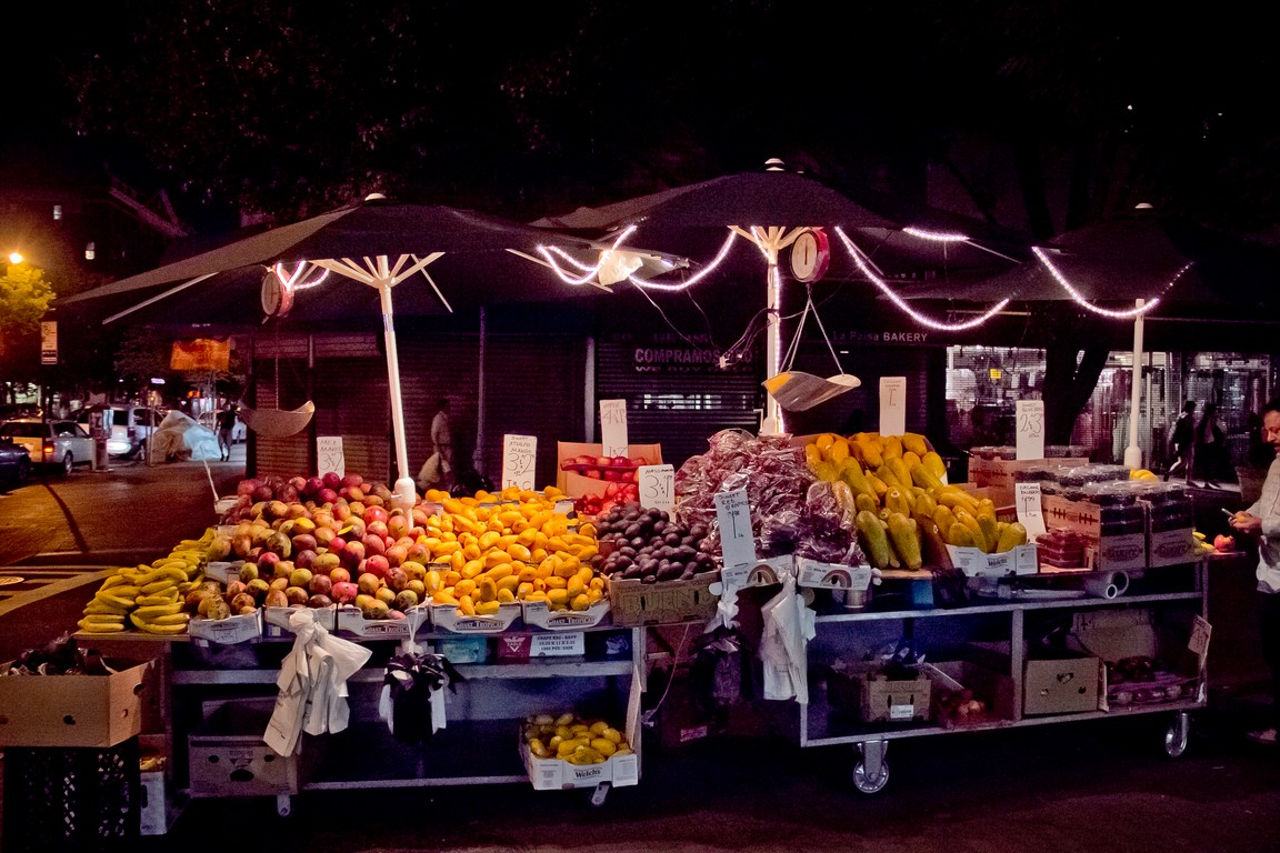 Fruit Stand in Jackson Heights