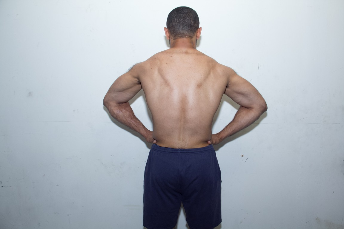 lat spread after 6 months in the gym