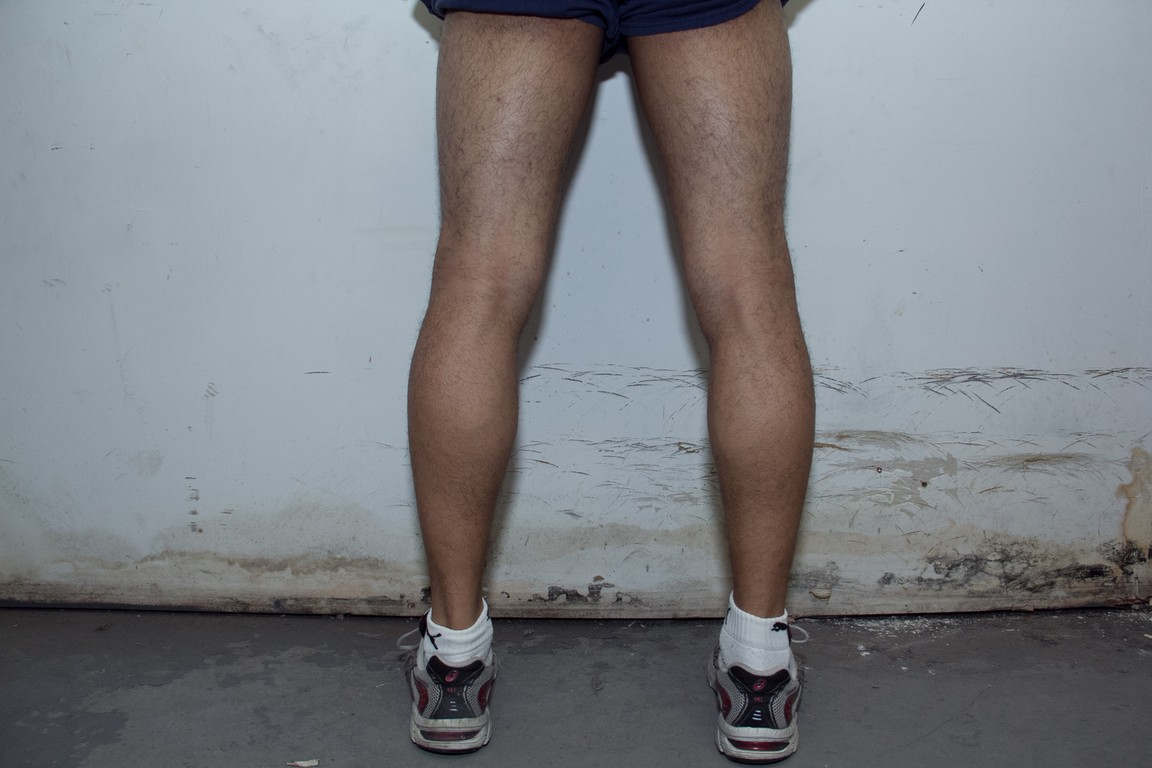 legs after 6 months of lifting