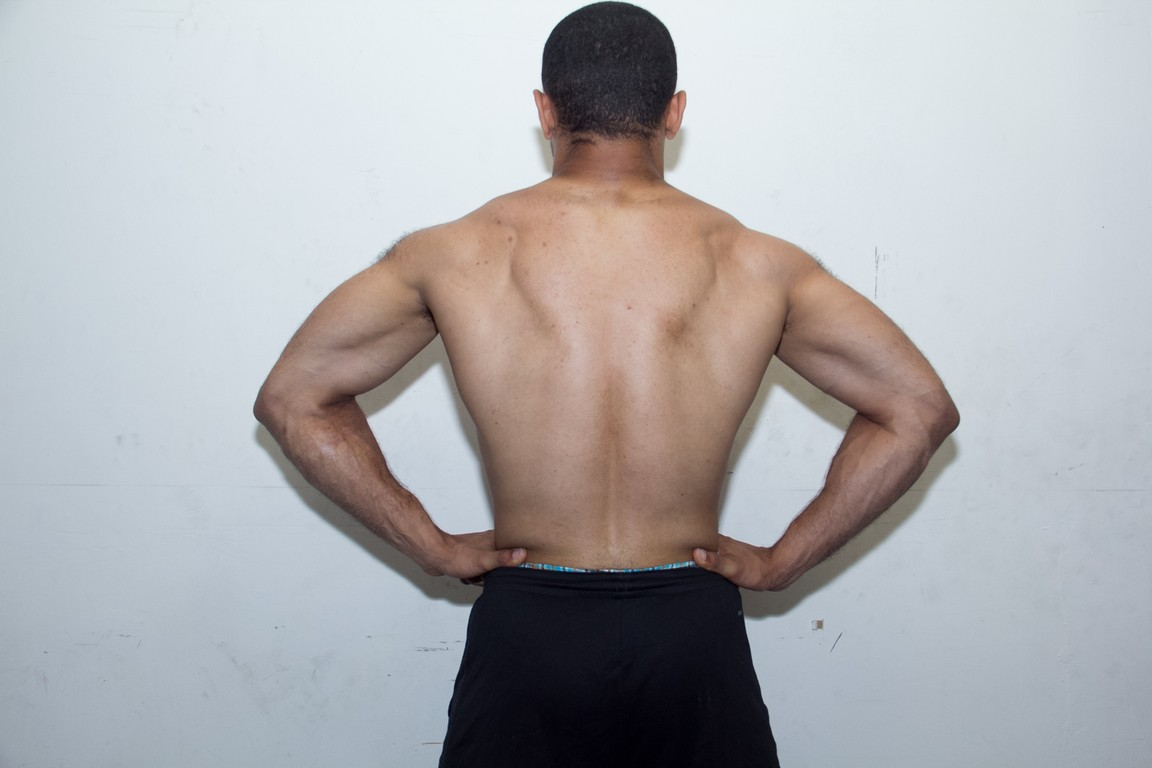 back lat spread after 7 months of lifting