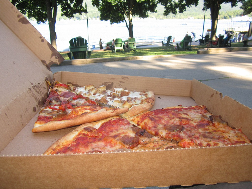 Pizza in Lake George