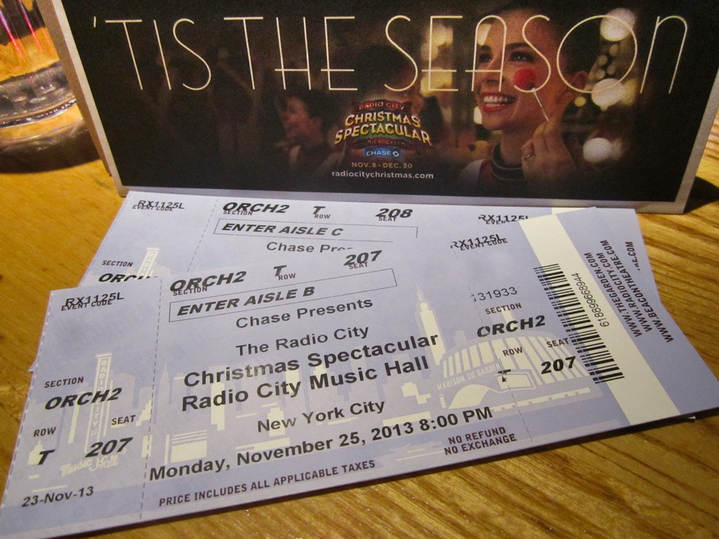 Discount coupons radio city christmas spectacular