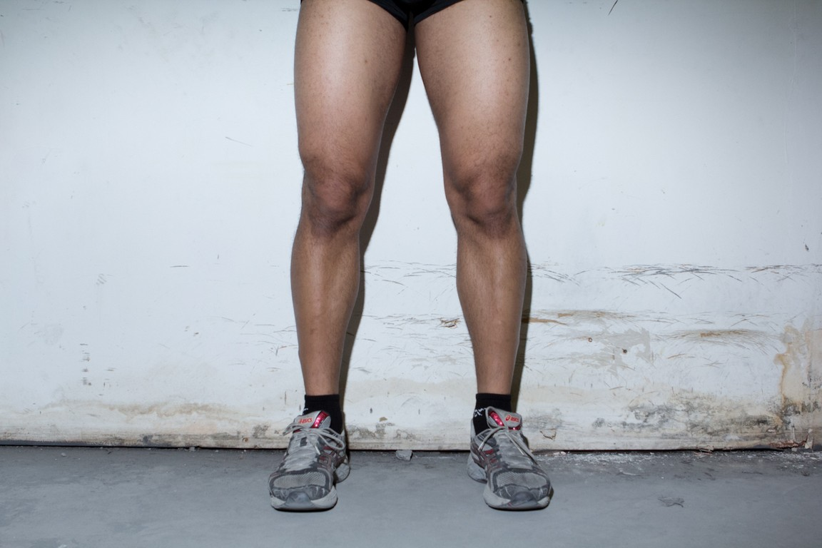 quads after 1 year of bodybuilding