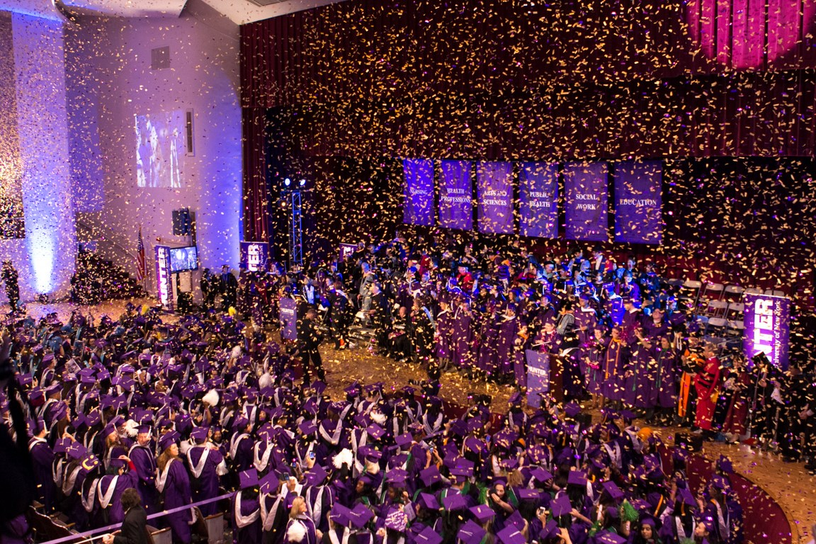 Hunter College Winter Commencement