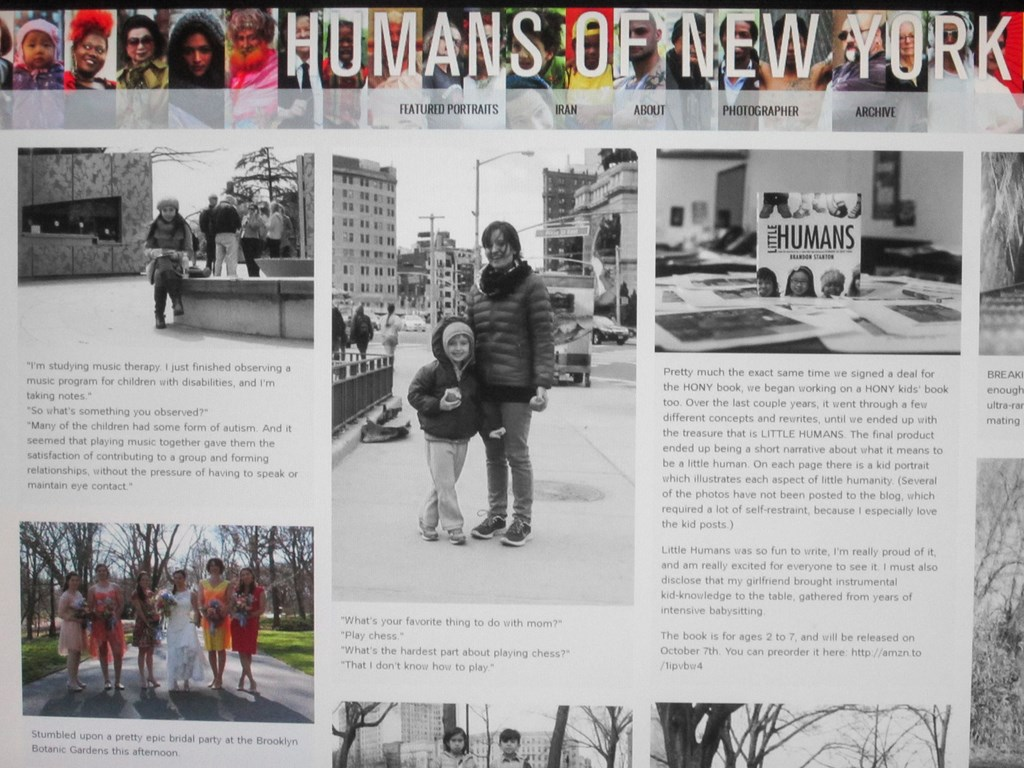 I met Brendan Stanton! - Humans of New York