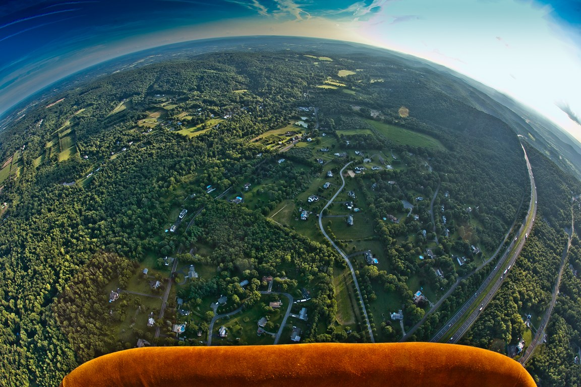 Hot Air Balloon View NJ NY