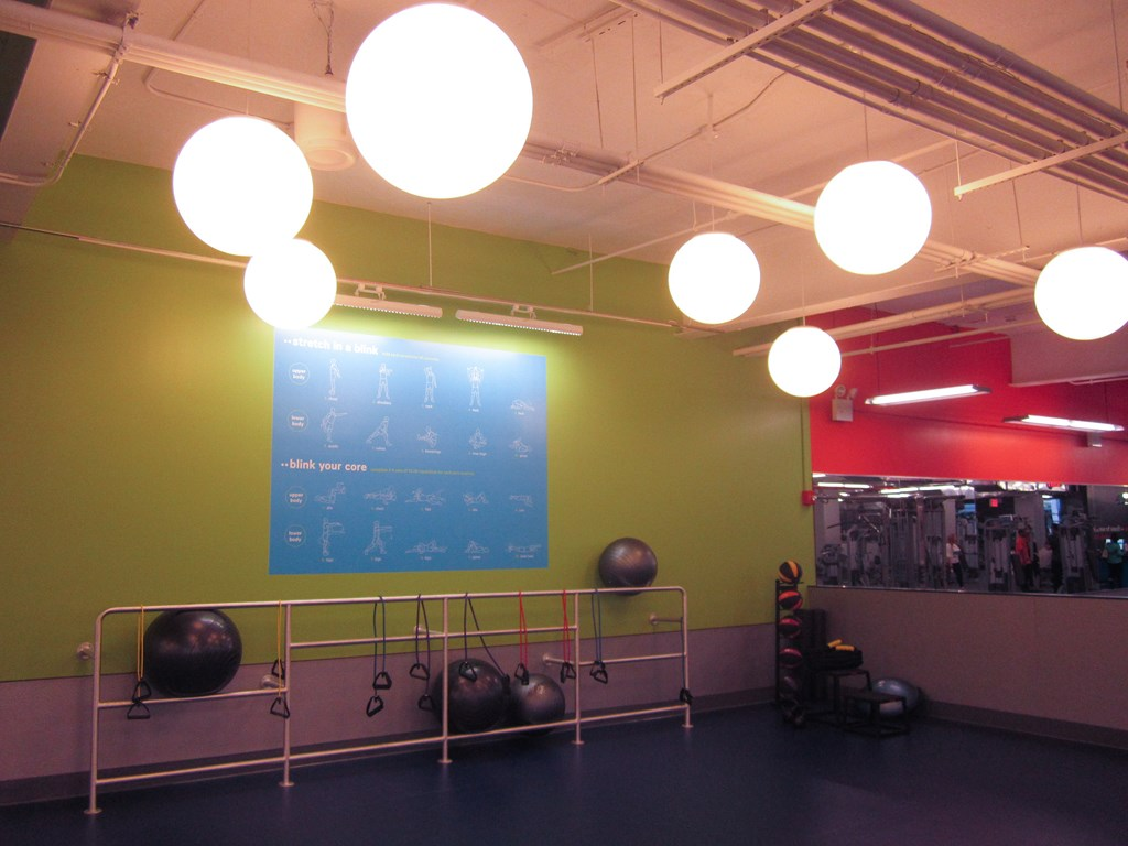 Blink Fitness Stretching Area Jackson Heights Queens