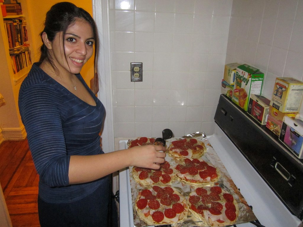 pepperoni Pizza by Tania