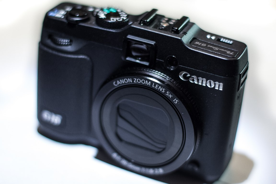 Canon G16 Point and Shoot Review