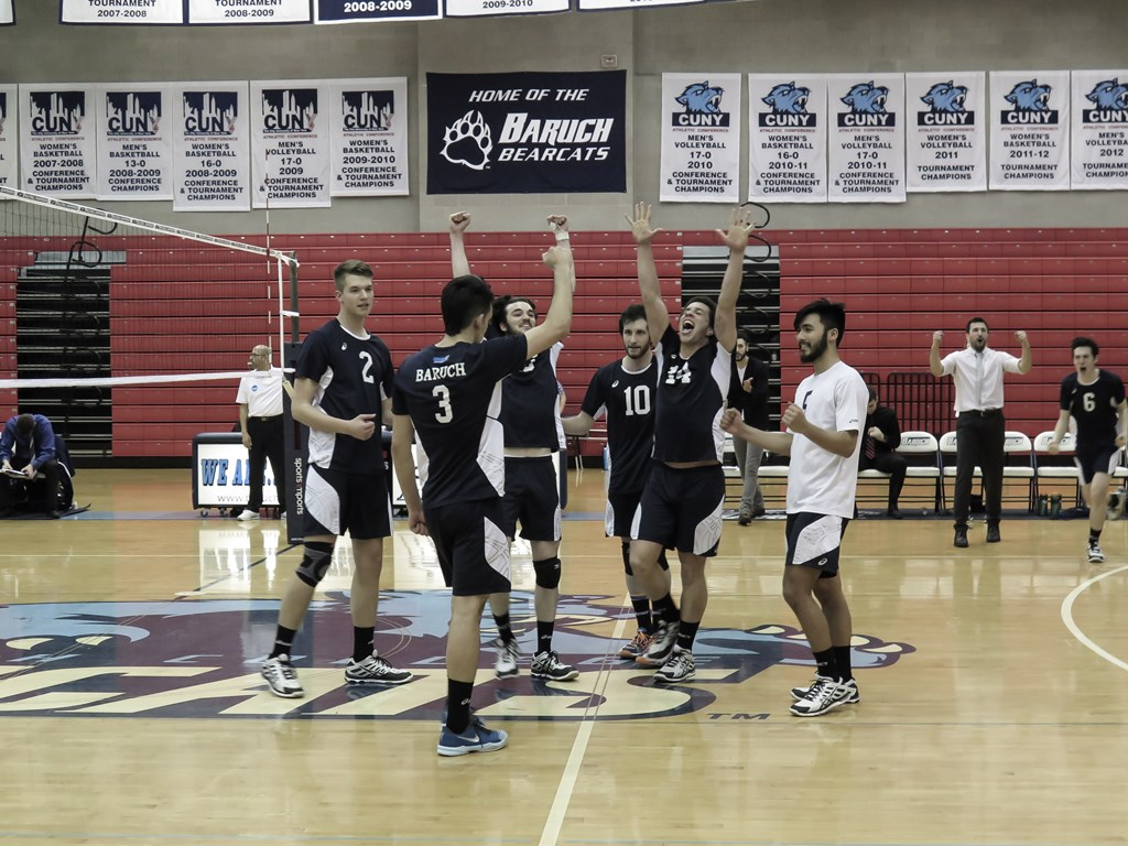Baruch College Bearcats advance to NCAA quarterfinal round