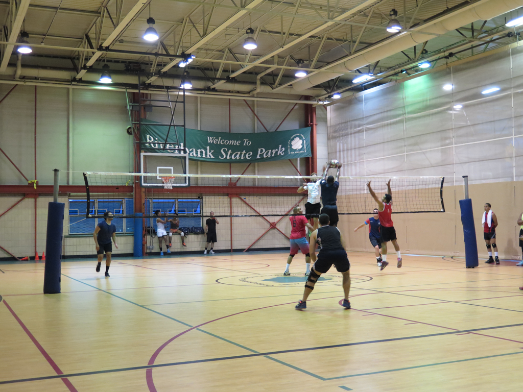 145th Street volleyball Courts