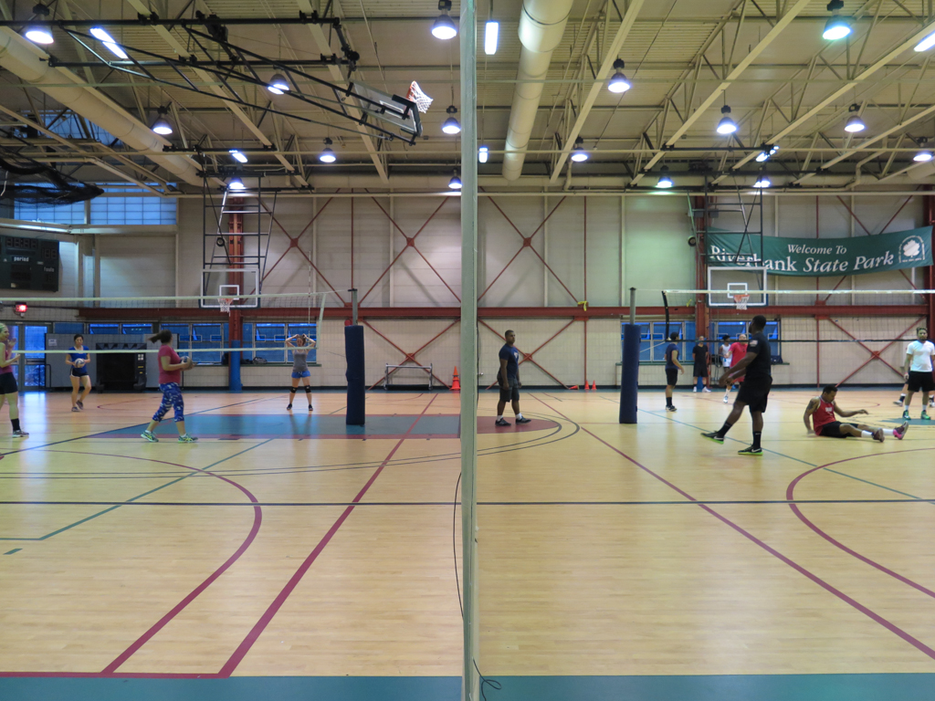 NYC parks and recreation volleyball 145th street manhattan