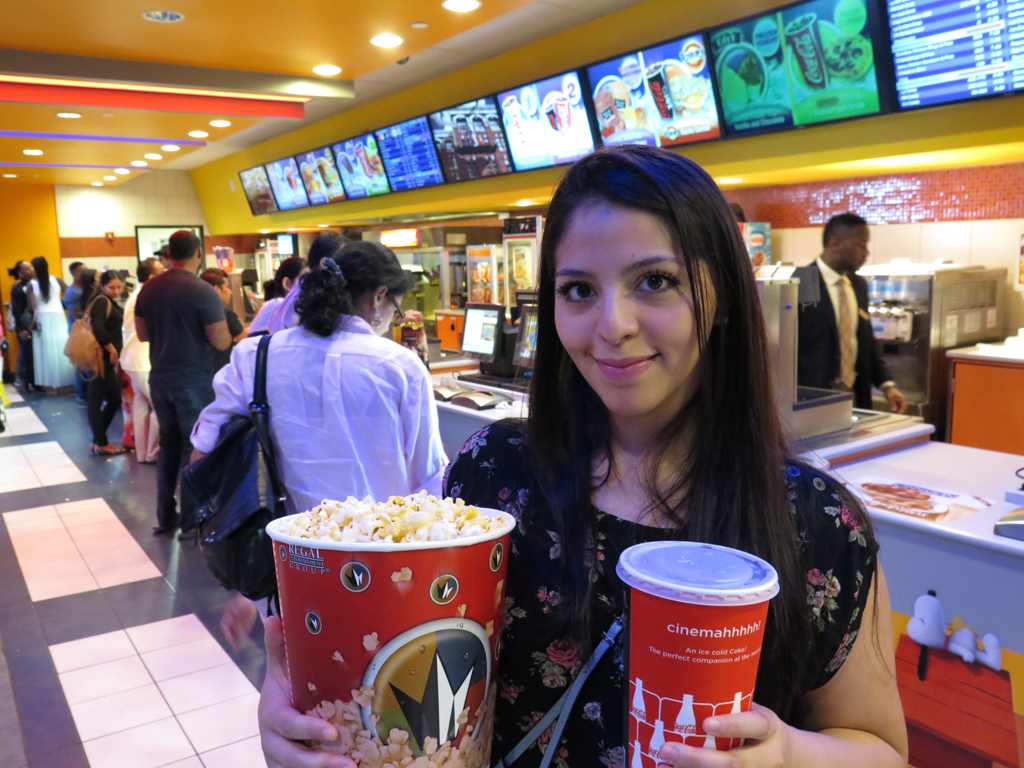 Movie Theater Popcorn and drink