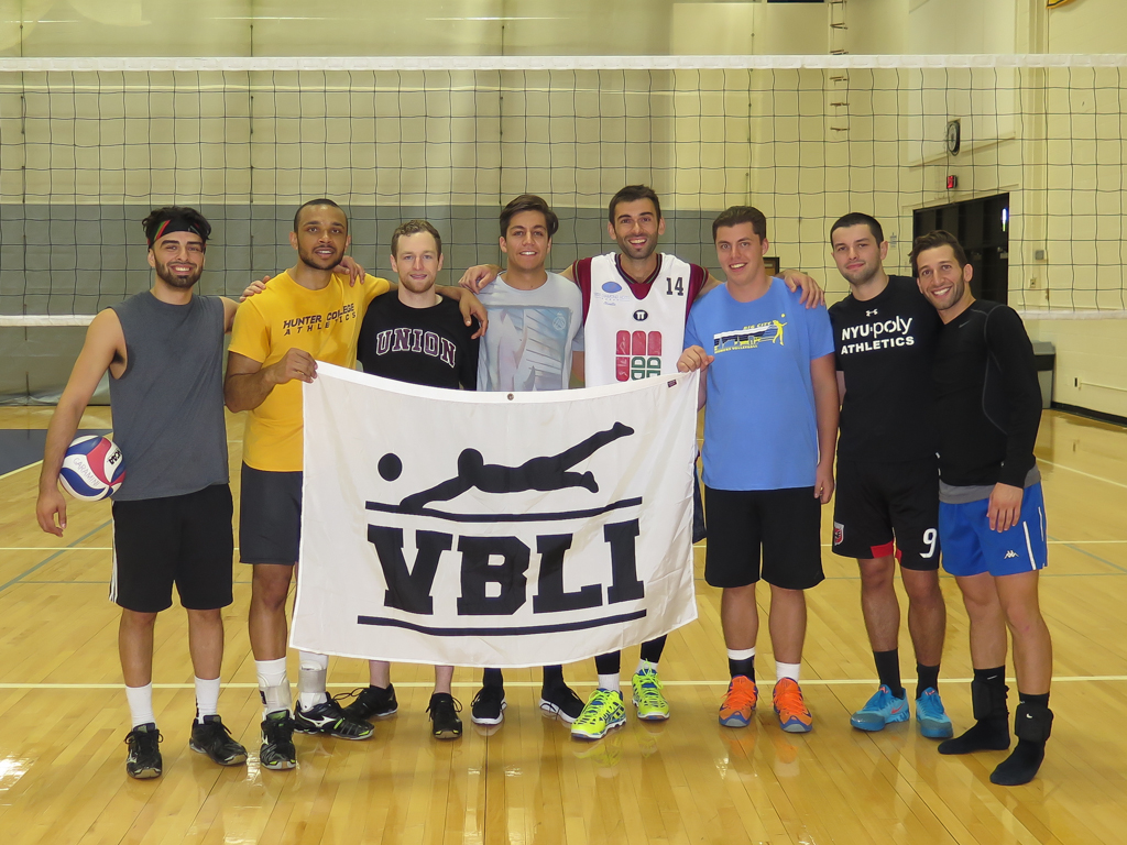 VBLI Indoor Tournament - Hofstra University Champions!
