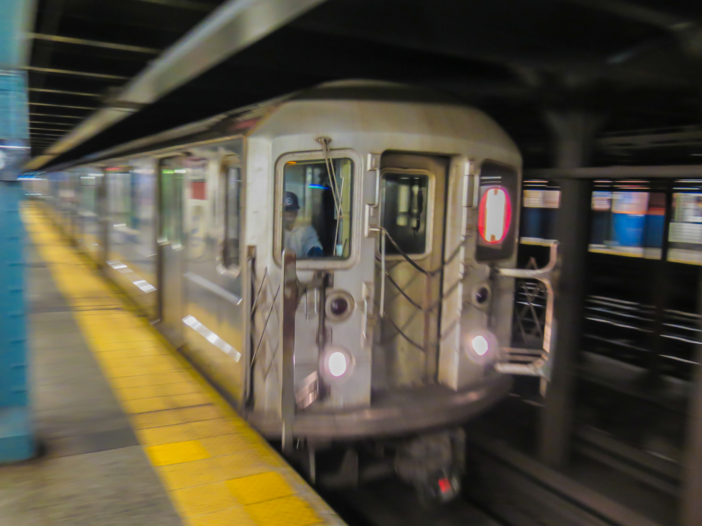 1 train at 28th Street Station