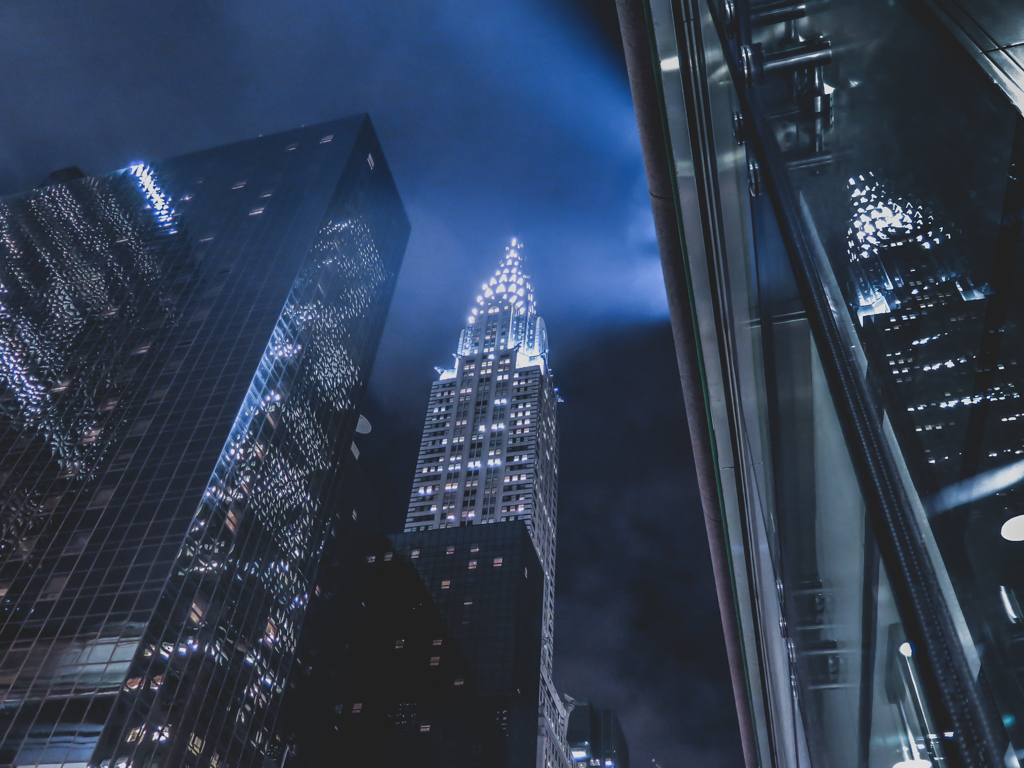 Chrystler Building at Night from Cipriani Photography
