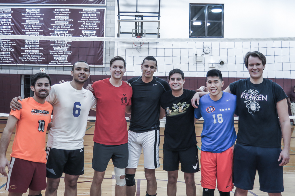 D1 Mens Volleyball Semi-Finalists 2015 Fall Season