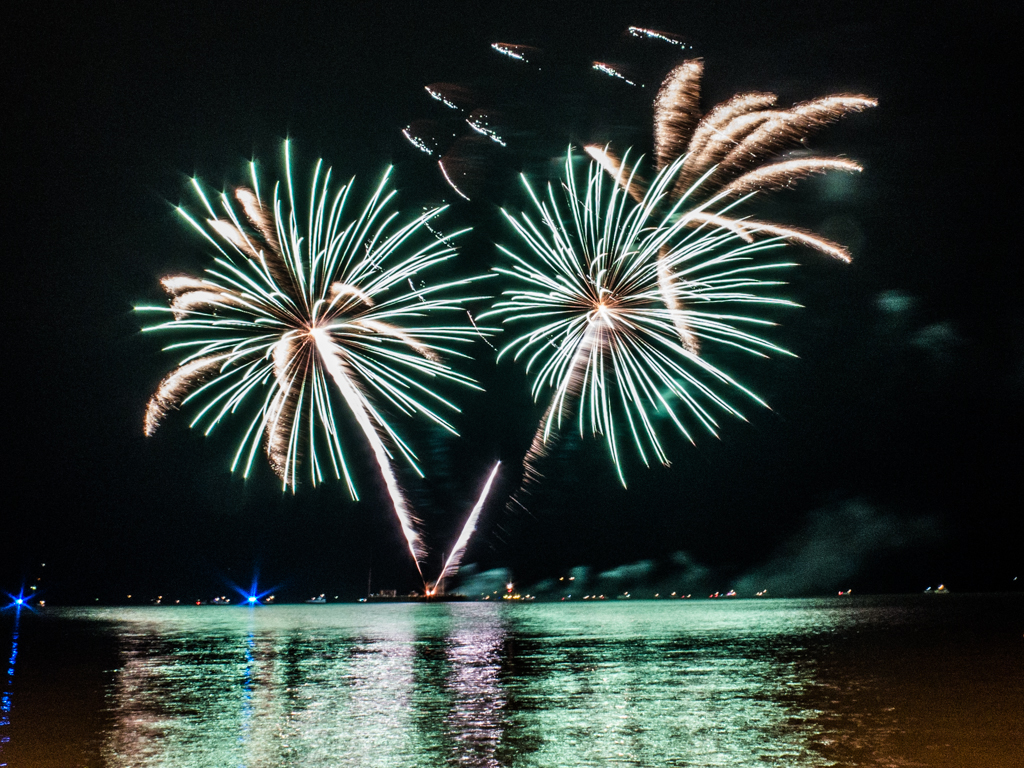 fourth of july fireworks in new york Peekskill
