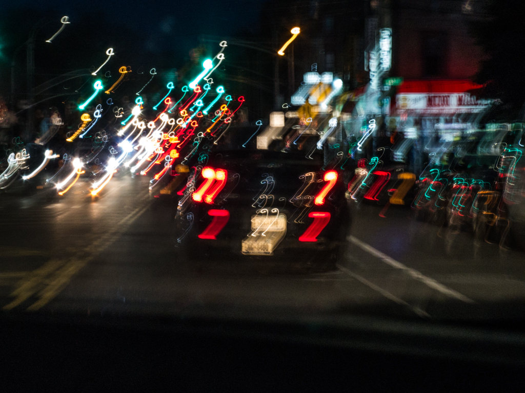 Driving blurry